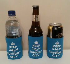 Manchester City Gift For Him Football Bottle & Can Cooler B2G1!