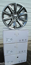 "22"" NEW GMC YUKON CHEVY SUBURBAN SILVERADO TAHOE HYPER / CHROME WHEELS 5696 SGF"