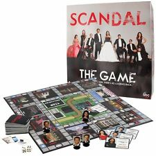 Scandal Board Game Of Intrigue Mystery Trivia ABC's Hit TV Show No Looking Back
