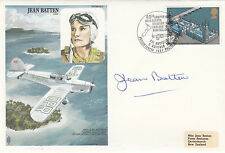 HA9c  Jean Batten Signed Jean Batten .Flown London to Rome ,Bombay Hong Kong Mel