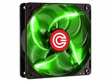 Circle Stay Cool C-12 120MM Green LED Case Cabinet Cooling Fan
