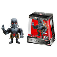 "Marvel Die-Cast Metals - Grey X-Force Deadpool 4"" Figure BRAND NEW"