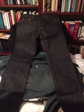 NWT Dior Homme raw navy blue jeans 30 17.5cm - GUARANTEED AUTHENTIC