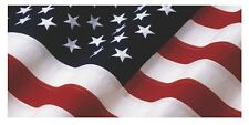 "AMERICAN USA FLAG VINYL DECAL TRUCK TAILGATE CAR WRAP -  48"" x 23"""