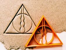 "Сookie cutter ""The deathly hallows"" Harry Potter cookiecutter cookies custom"