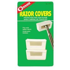 Coghlan's 2 Safety Razor Blade Covers Camping Travel Kit Protects Coghlans 0520