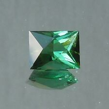 Blue green tourmaline Afghanistan USA precision cut 1.58 carats