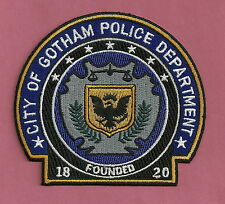 GOTHAM CITY POLICE PATCH 1820 BATMAN