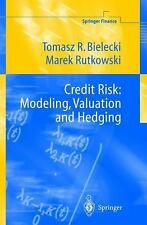 Springer Finance: Credit Risk : Modelling, Valuation and Hedging by Tomasz R....