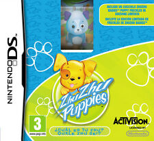 Zhu Zhu Puppies + Zhu ZHU Babies Puppy Figure Bundle Nintendo DS IT IMPORT