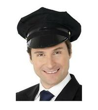 Chauffeur Drivers Hat Cap Wedding Prom Limo Taxi Fancy Dress