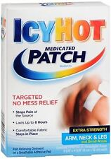 ICY HOT Medicated Patches Extra Strength Small (Arm, Neck, Leg) 5 Each