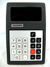 Rare 70´s vintage calculator Taschenrechner 1000 PR working condition