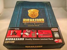 ★ Biohazard Deadly Silence Limited Pack Nintendo DS ★ Japan Limited ★