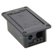 9V Battery Cover Case Box Compartment For Active Guitar /Bass Pickup Great Part