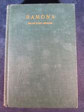 Ramona by Helen Hunt Jackson (1912 Hardcover)
