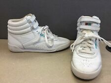 Reebok Retro Classic Freestyle H Comfort Sneakers Shoes Size Youth 3.5 Women's 6