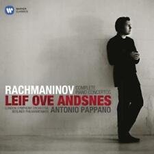 Rachmaninov Complete Piano Concertos Leif ove Andsnes Antonio Pappano - 2 CD Box