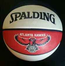 "Spalding NBA ATLANTA HAWKS Basketball Full-Sized Court Side, 29.5"" ATL"