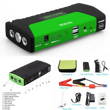 12V Car Jump Starter 16800mAh Portable Battery Power Bank Pack Booster Charger