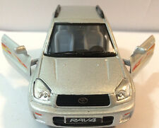 "1:32 scale Toyota RAV4 SUV diecast car toy model Pull back and go action 5"" SILV"