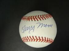 Terry Moore Signed Baseball Autograph Auto PSA/DNA X69363