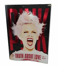 P!NK TRUTH ABOUT LOVE 2013 TOUR BOOK NEW OFFICIAL BAND MUSIC PINK PROGRAM