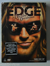WWE Wrestling EDGE A Decade of Decadence DVD 3 Disc BOX SET