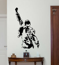 Freddie Mercury Queen Wall Decal Rock Music Vinyl Sticker Art Decor Mural 24sss