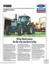 Farm Tractor Brochure -  Ford - 8210 - c1988  (F4422)