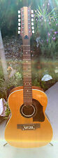 VINTAGE 1960'S ARNOLD HOYER 12 STRING ACOUSTIC DREADNAUGHT GUITAR  GERMAN MADE