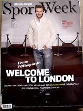 Sport Week n°5 2012 David Beckam cover  [G18]