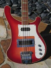 "1975 Rickenbacker 4001 Bass cool clean 41 year old ""Ricky"""