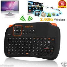 Per Smart TV-Box PC Tablet Portatile 2.4Ghz Tastiera Wireless Touchpad
