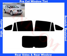 Pre-Cut Window Tint Dodge Caliber 5D 2006-2011 Rear Window&Rear Sides Any Shade