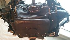 Authentic Chloe Paddington Dark Brown Leather Handbag/Made in Italy