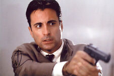 Andy Garcia, Hollywood film star, signed 12x8 inch photo. COA. Proof.
