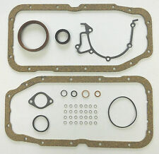 BOTTOM END SUMP GASKET SET 16V RED TOP CALIBRA ASTRA CAVALIER KADETT VECTRA