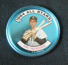 2 Diff 1964 Topps Boston Red Sox Carl Yastrzemski Yaz Coins #26 All Star #134 NR