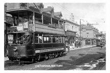 pt1541 - Birkenhead Tram at New Ferry Terminus , Cheshire - photograph 6x4