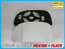 Mitsubishi Space Star 1998-2005 Wing Mirror Glass Wide Angle HEATED Left #JB004