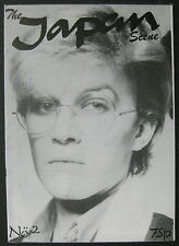 The JAPAN SCENE 1980 UK ORG FAN Magazine No. 2 DAVID SYLVIAN Minty PUNK New Wave