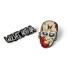 IQUL-WD: AMC's The Walking Dead Wolves Zombie Pin Set (2 pins set)