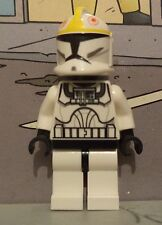 Star Wars lego minifigure  CLONE PILOT yellow pattern trooper 7674 7958
