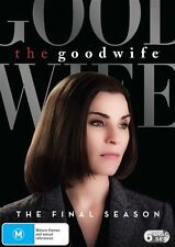 The Good Wife : Season 7 FINAL SEASON (DVD, 2016, 6-Disc Set) R/4