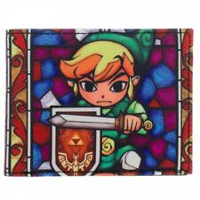 Official Nintendo ~THE LEGEND OF ZELDA MENS WALLET~ Link Triforce Shield & Sword