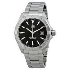 Tag Heuer Aquaracer Black Dial Stainless Steel Mens Watch WAY1110.BA0910