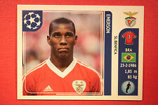 PANINI CHAMPIONS LEAGUE 2011/12 N 162 EMERSON BENFICA WITH BLACK BACK MINT!