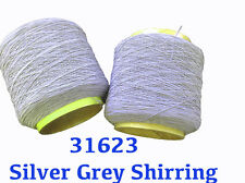 NEW Grey Shirring Elastic Sewing Thread 2 for 1 price- 31623 Direct Manufacturer