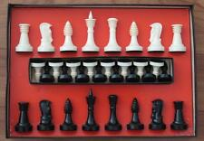 Vintage Ganine chess set for a Star Trek 3D Chess Set Prop